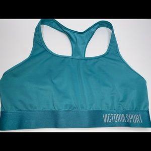 Victoria's Secret Sport Teal Sports Bra (Size 38B)